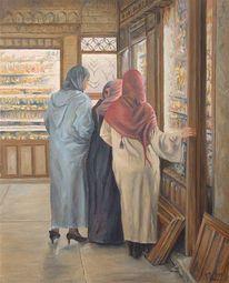 Gemälde, Modern, Orientalismus, Orientaliste