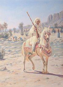 Malen, Orientalismus, Orientaliste, Arabisch