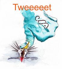 Gezwitscher, Präsident, Tweet, Amerika