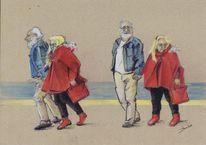 68er, Chic, Malerei, Schatz