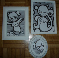 Zeichnung, Zeichnungen, Menschen
