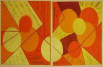 Ricca, Malerei, Abstrakt