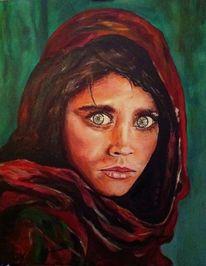 Frau, Menschen, Mädchen, Malerei