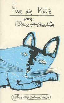 Zeichnung, Katze, Berlin, Gedichtband