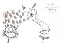 Blumen, Petrus, Akkordeon, Tiere