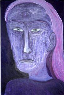 Malerei, Figural, Trauer, Schmerz