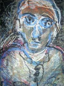 Abstrakt, Spontan, Portrait, Miniatur