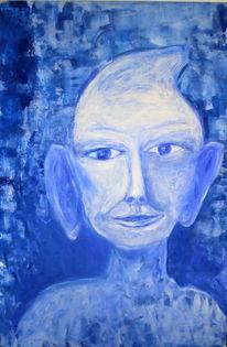 Malerei, Humor, Figural, Außerirdisch