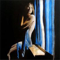 Figural, Malerei, Menschen, Fenster
