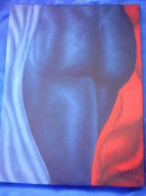 Figural, Homosexualität, Clubbingszenze, Malerei