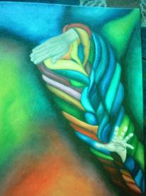 Reaktion, Hände, Folge, Farben