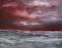 Hebriden, Farben, Meer, Wolken