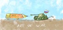 Ukraine, Mixed media, Krym, Putin