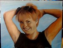 Figural, Malerei, Portrait, Ölmalerei