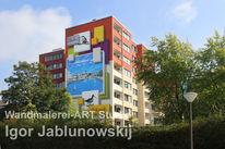 Wandmalerei, Realismus, Malerei, Dortmund