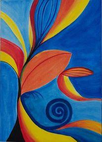 Farben, Abstrakt, Malerei, Acrylmalerei