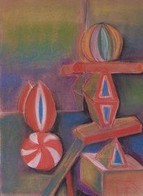 Pastellmalerei, Geometrie, Malerei