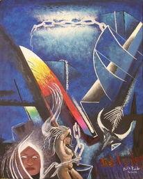 Gefühl, Fantasie, Menschen, Malerei