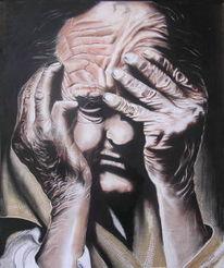 Menschen, Gefühl, Schmerz, Zeichnungen