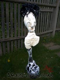 Gasmaske, Plastik, Skulptur, Schmerz