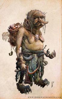 Sichel, Monster, Böse, Hexe