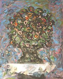 Impressionismus, Gemälde, Malerei, Blumen