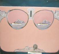 Brille, Malerei, Gemälde,
