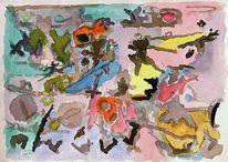 Expressionismus, Gewimmel, Abstrakt, Holocaust