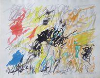 Entartete kunst, 1959, Malerei, Aquarell