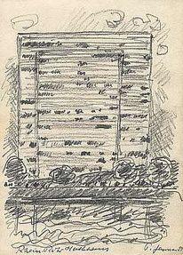 Gemälde, Hochhaus, Malerei, Holocaust