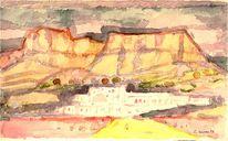Expressionismus, Spanien, Aquarellmalerei, Holocaust