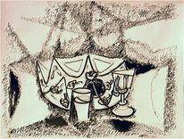 Glas, Holocaust, Malerei, 1949