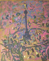 Landschaft, Gemälde, 1962, Entartete kunst
