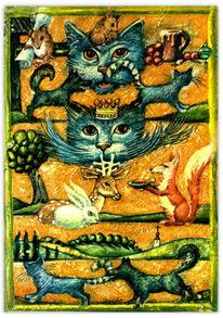 Kinderbuch, Maus, Zwillingsfeen, Malerei