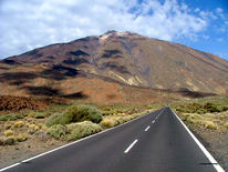 Straße, Teneriffa, Landschaft, Berge