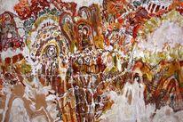 Holz, Acrylmalerei, Traum, Abstrakt