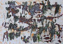 Malerei, Traum, Acrylmalerei, Abstrakt