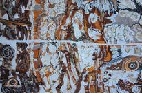 Holz, Traum, Malerei, Acrylmalerei