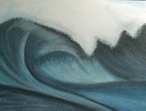 Wasser, Malerei, Oberirsen, Pastellmalerei