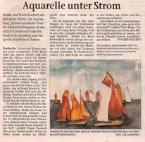 Boot, Ausstellung, Ostsee, Malerei