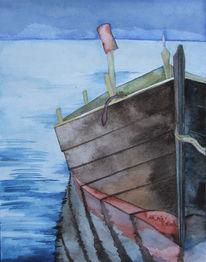 Fischland, Ostsee, Boot, Darß