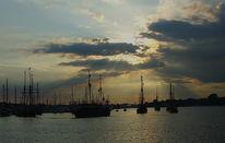 Stadt, Hanse, Hafen, Segel