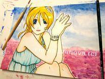 Anime, Charakter, Lovelive, Liebe