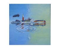 Venedig, Trpfen, Surreal, Malerei