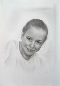 Portrait, Zeichnung, Portraitzeichnung, Porträtmalerei