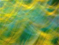 Lichtmalerei, Welle, Blumenwellen, Wischeffekt