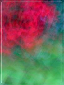 Lichtmalerei, Wischeffekt, Abstrakt, Fotografie