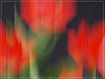 Lightpainting, Fotografie, Wischeffekt, Abstrakt