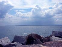 Fotografie, Ostsee, Wolken, Licht