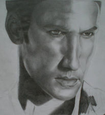 Portrait, Zeichnung, Zeichnungen, Ausdruck